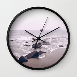 Malibu Coast, Ocean Wall Clock