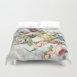 A Flowering Flourish, spring, burgeon, burst! Duvet Cover