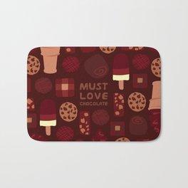 Must Love Chocolate Bath Mat