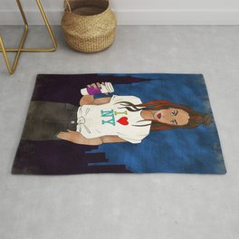 New York City Girl Rug