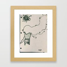 Clover Manor days.. Framed Art Print