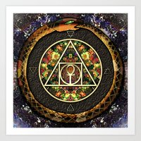 The Sacred Alchemy of Life Art Print