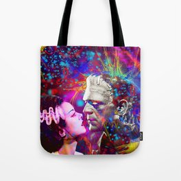 Frankenstein`s Bride Tote Bag