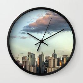 Makati Cityscape Wall Clock