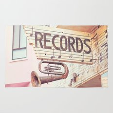 Records Rug