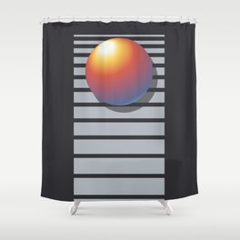 VHS T-120 EG VIDEOCASSETTE Shower Curtain