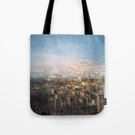 Paris Multiple Exposure  Tote Bag
