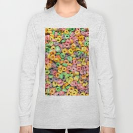 204 - Fruit loops and Marshmallows Long Sleeve T-shirt