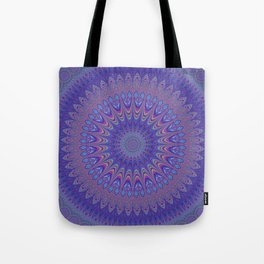 Purple mandala Tote Bag