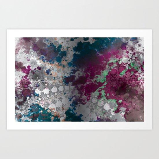 Color Texture Art Print