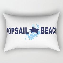 Topsail Beach - North Carolina. Rectangular Pillow