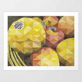 Manzanas, Apples Art Print