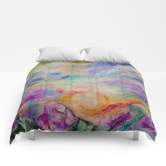Double Sunset Comforters