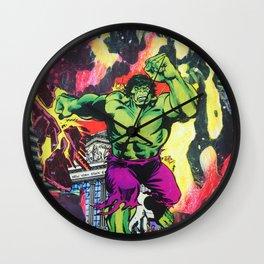 HULK SMASH NYSE Wall Clock