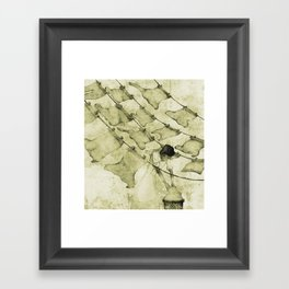 Salt of the earth Framed Art Print