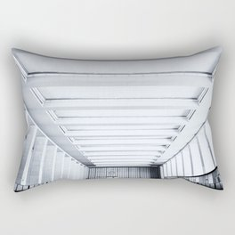 Grand entrance (Tempelhof Airport, Berlin abandoned places) Rectangular Pillow