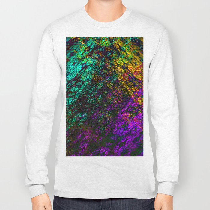 clouds everywhere color Long Sleeve T-shirt
