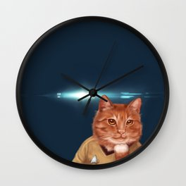William Catner Wall Clock