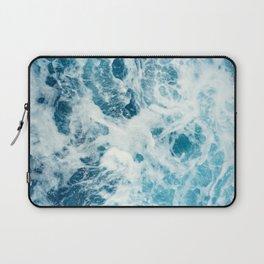 Ocean waves art Laptop Sleeve