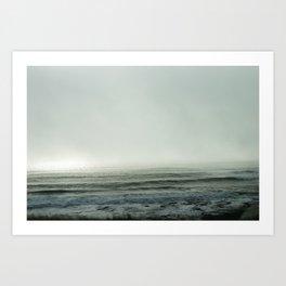 Cloudbank - 3 Art Print