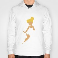 tinker bell Hoodies featuring Tinker Bell by Adrian Mentus