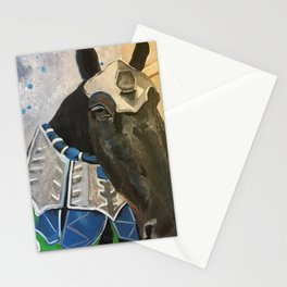 Abe; The Jousting Horse Stationery Cards