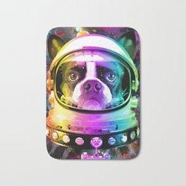 Space Dog Bath Mat