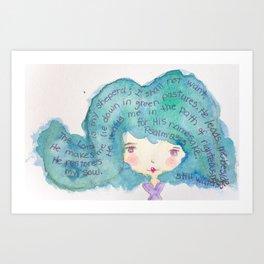 Darla Art Print