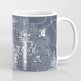 Abstract city plan Coffee Mug