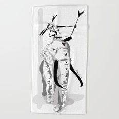 Lotta love - Emilie R. Beach Towel