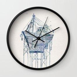 Dry Dock I Wall Clock