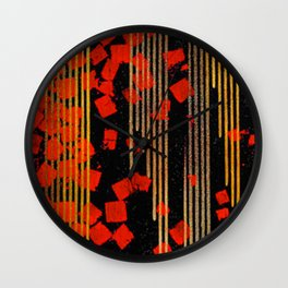 RAIN #society6 #decor #buyart Wall Clock