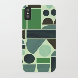 Town Hall (Green) iPhone Case