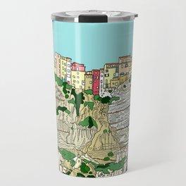 Bonifaccio in Corsica Travel Mug