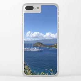 Iles des Saintes II Clear iPhone Case