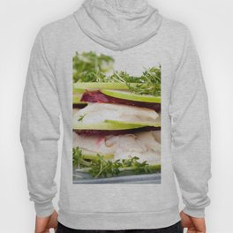 Apple and trout appetizer Hoody