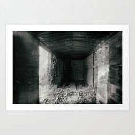 Boxcar Art Print