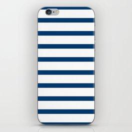 Sailor Stripes Navy & White iPhone Skin