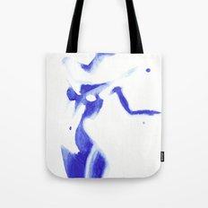 Woman in watercolour Tote Bag