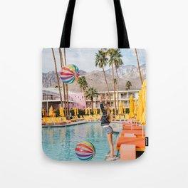 Palm Springs Pool Day IV Tote Bag