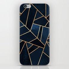 Navy Stone iPhone Skin