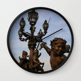 Pont Alexandre III Wall Clock