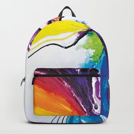 Abstract Art Britto - QB294 Backpack