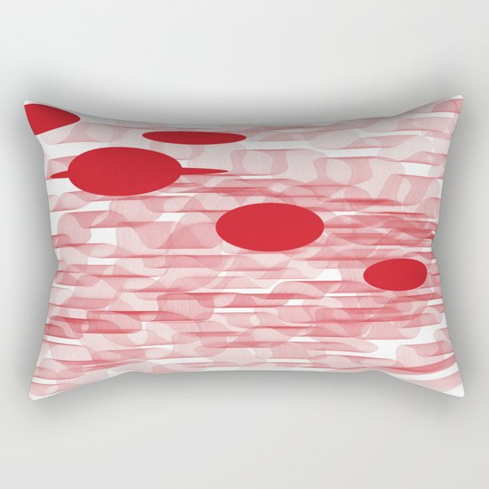 red planets Rectangular Pillow
