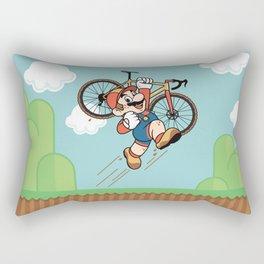 Super Cyclocross Rectangular Pillow
