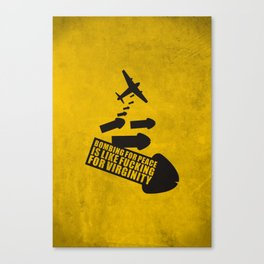 Bombing for peace... Canvas Print