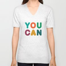 You Can Unisex V-Neck