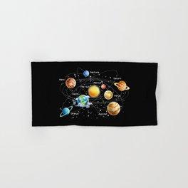 Solar System Hand & Bath Towel