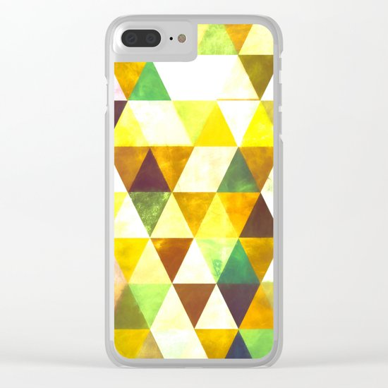 Abstract #428 Clear iPhone Case