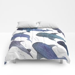 Whale Shark Pattern Party Comforters